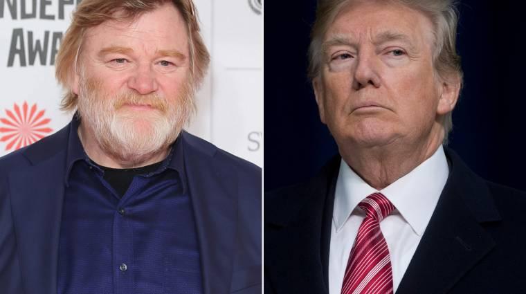 Ilyen lesz a Donald Trumpot játszó Brendan Gleeson kép