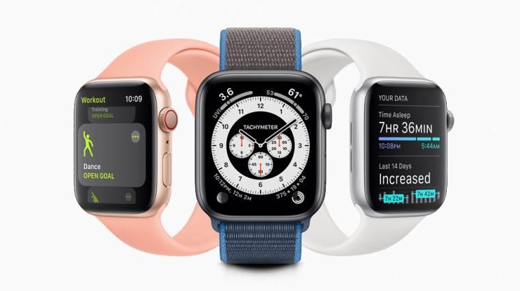 Még több újdonság érkezik az Apple Watch okosórákra kép