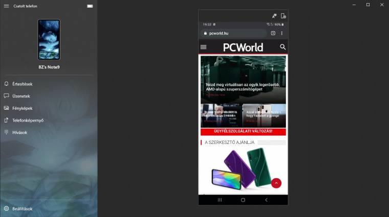 Így használd a Windows 10 még okosabb Csatolt telefon funkcióját kép