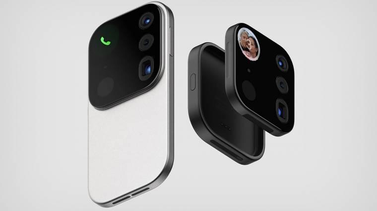 A kipattintható kamerás mobil túl szép, hogy igaz legyen kép