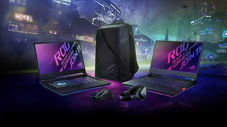 Szerezz értékes kiegészítőket új ASUS ROG gamer laptopod mellé! bevezetőkép