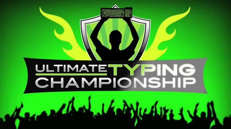 Te gépelsz a világon a leggyorsabban? Indulj az online bajnokságon! kép
