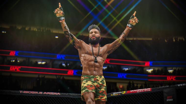 Elég közel van az EA Sports UFC 4 megjelenés bevezetőkép