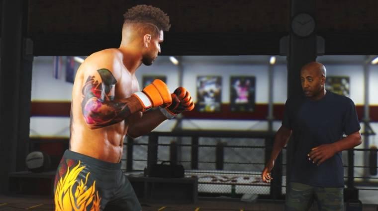 Trailer mutatja be a UFC 4 átdolgozott karrier módját bevezetőkép