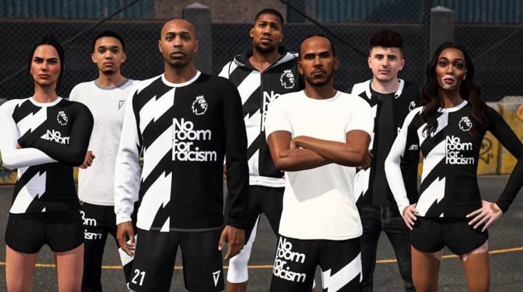 Lewis Hamilton is bekerült a FIFA 21-be, hogy így harcoljon a rasszizmus ellen bevezetőkép