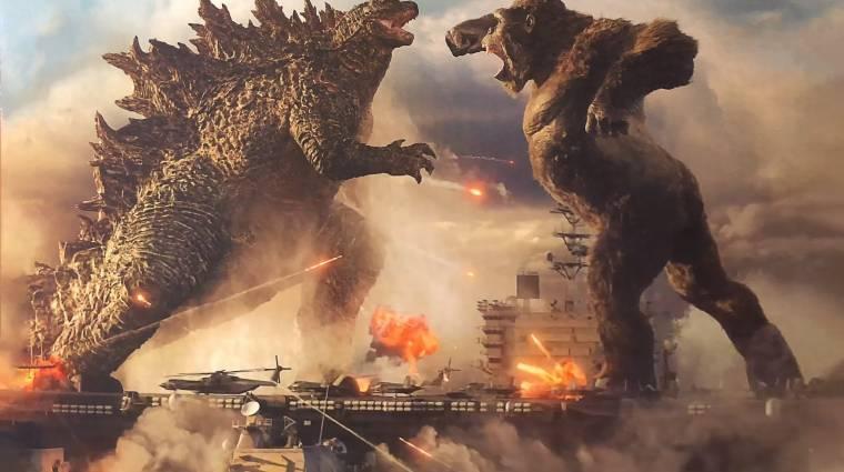 A Godzilla vs. Kong trailerben kegyetlenül egymásnak esik a két óriásszörny bevezetőkép