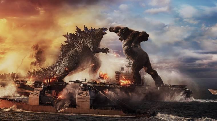 BRÉKING: Berombolt a Godzilla vs. Kong szinkronos előzetese! kép