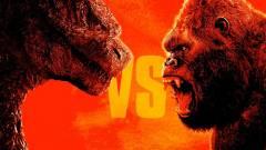 Szinkronos előzetesben esik egymásnak Godzilla és Kong kép
