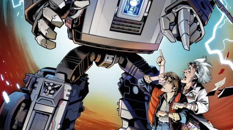 Így találkozik a Vissza a jövőbe és a Transformers világa bevezetőkép