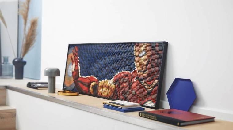 Akár Vasember-portrét is építhetünk a LEGO új készletével bevezetőkép