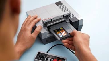 Kreatív easter egget rejt a LEGO-ból készült NES kép