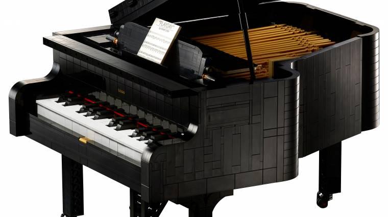 Láttál már működő LEGO zongorát? bevezetőkép
