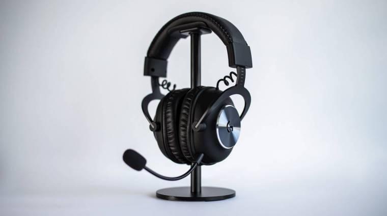 Itt az új, játékosoknak szánt vezeték nélküli Logitech fejhallgató kép