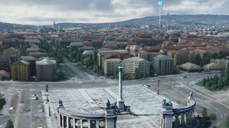 Élethűbb Budapestet varázsolnak a rajongók a Microsoft Flight Simulatorba bevezetőkép