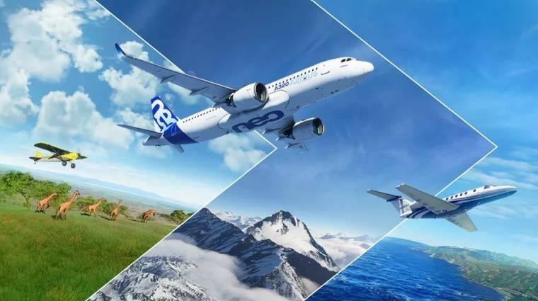 Fehér karácsonyt hoz a Microsoft Flight Simulator új frissítése bevezetőkép