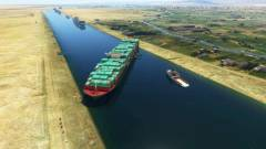 A Microsoft Flight Simulatorba is bekerült a Szuezi-csatornában ragadt hajó kép