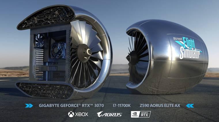 Ha a hangja nem is, ennek a PC-nek a formája olyan, mint egy turbináé kép