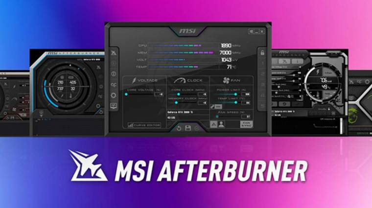 Az MSI Afterburner weboldalát utánozva tévesztenék meg a felhasználókat a csalók kép