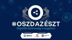#oszdazészt mozgalom - segíts másoknak az internetes bűnözőkkel szemben! kép
