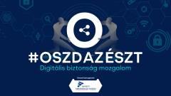 #oszdazészt - most is arra kérünk, hogy segíts biztonságosabbá tenni az internetet! kép