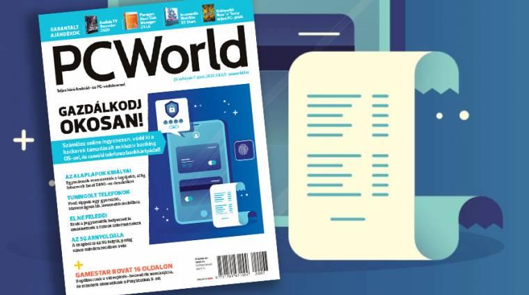Biztonságos online pénzügyek és értékes ajándékok a júliusi PC Worldben kép