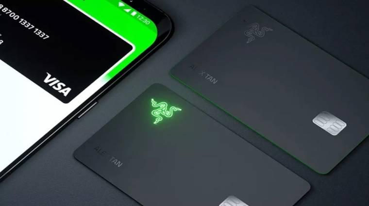Nyilván van LED a Razer gamereknek szóló bankkártyáján kép