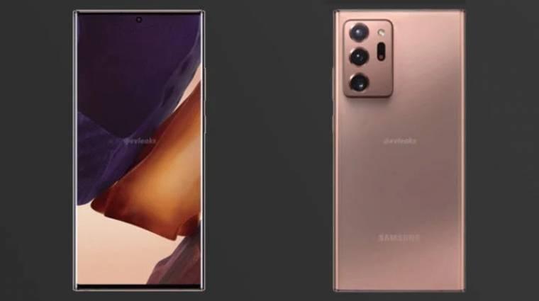 Megmutatta magát a Samsung Galaxy Note 20 Ultra kép