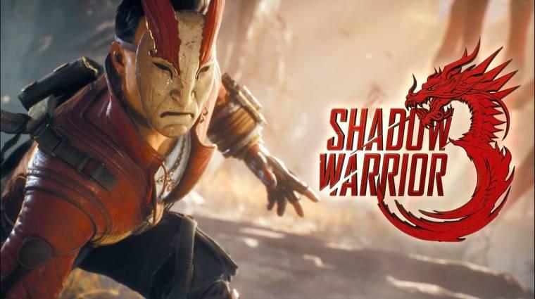 Tényleg jön a Shadow Warrior 3, hamarosan gameplayt is nézhetünk bevezetőkép