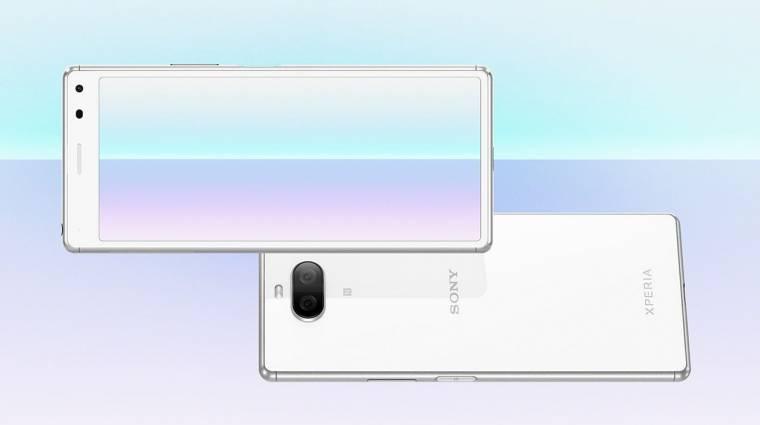 Újabb középkategóriás mobillal támad a Sony, itt az Xperia 8 Lite kép