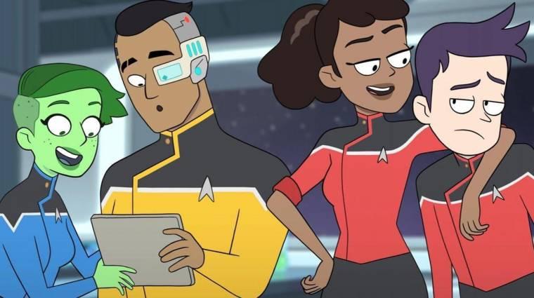 Íme az első két perc a Star Trek animációs sorozatból kép