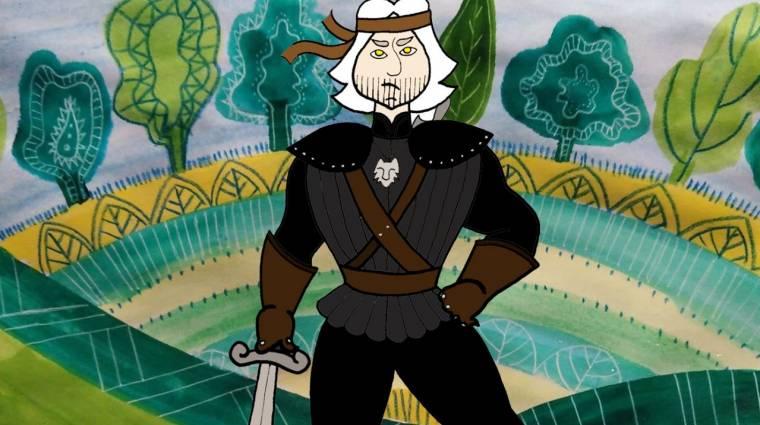 Magyar népmesei hősökként még ütősebbek a The Witcher karakterei bevezetőkép