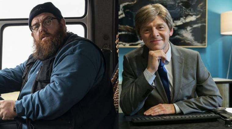 Szellemes előzetest kapott a Truth Seekers, Simon Pegg és Nick Frost horror komédiája kép