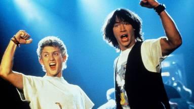 A Bill és Ted első casting videóján még fordítva voltak a szerepek kép