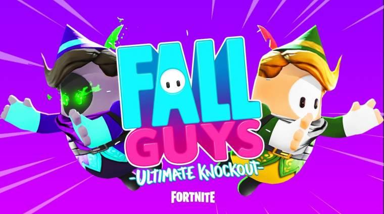 Az év crossovere: Fortnite keveredik a Fall Guys-ba? bevezetőkép