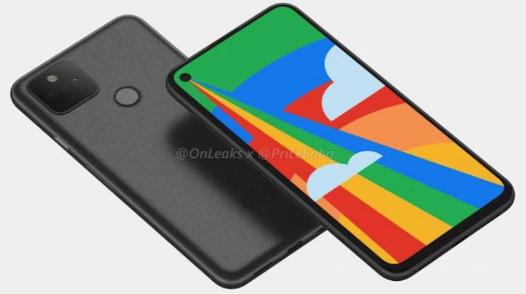 Jó áron jön a Google Pixel 5 mobilja, képek is vannak kép