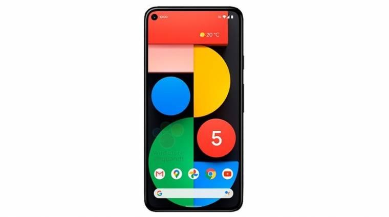 Minden kiszivárgott a Google Pixel 5-ről kép