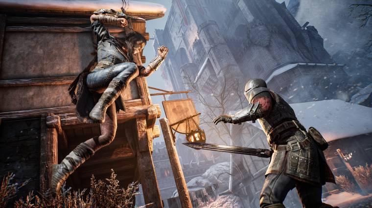 A Hood: Outlaws & Legends egyik karakterével csendes gyilkosokká válhatunk bevezetőkép