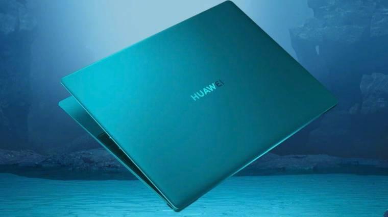 Rettentő vékony és nagyon könnyű a Huawei MateBook X kép