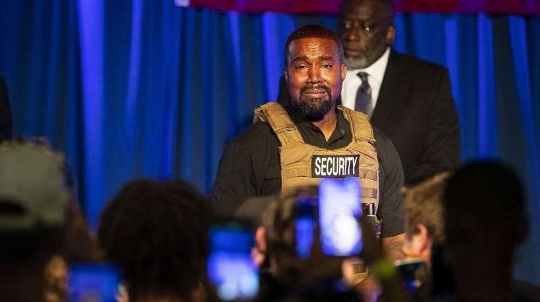 Kanye West kampányacsapata szerint az iPhone-ok hibás órája miatt nem lehet belőle amerikai elnök kép