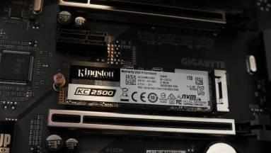 Kingston KC2500 1 TB SSD teszt - gyorsítás mágiával kép