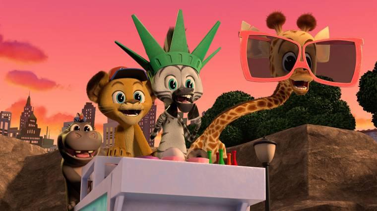 Bájos előzetest kapott a Madagaszkár előzménysorozata kép