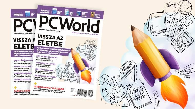 Az augusztusi PC Worlddel felkészülünk az iskolakezdésre és visszatérünk a mindennapokba kép