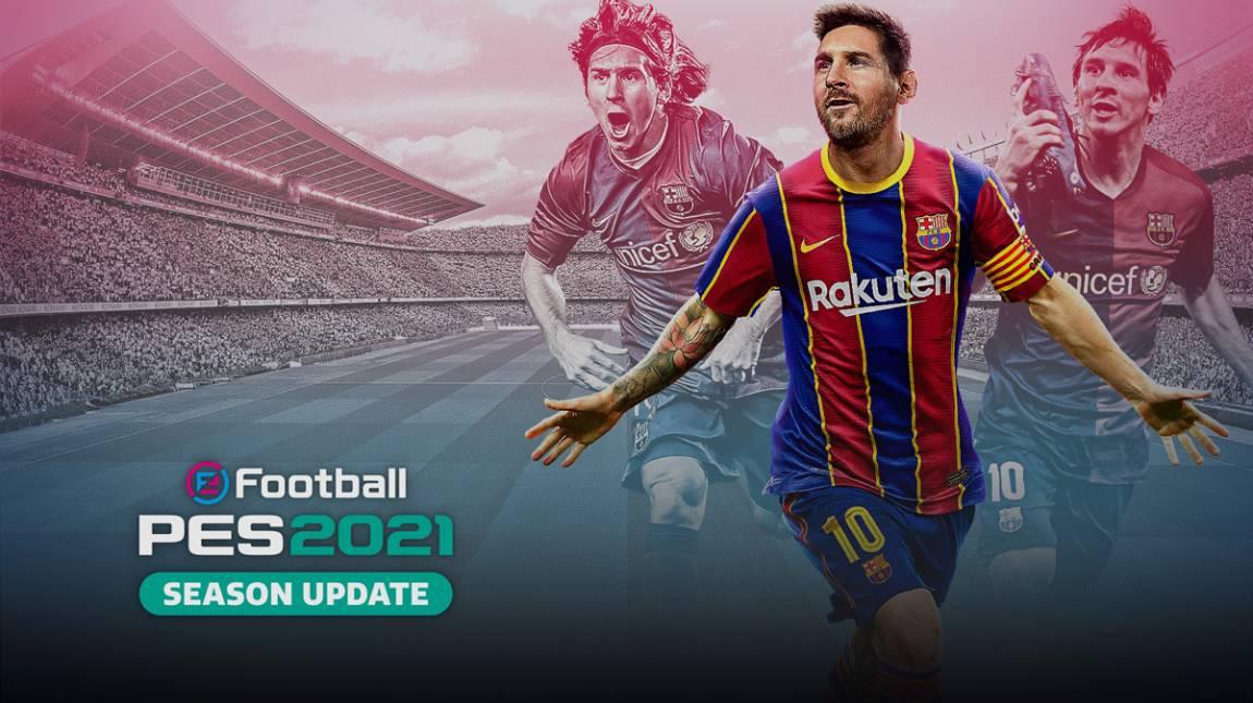 eFootball PES 2021 Season Update teszt – tavalyi foci bevezetőkép
