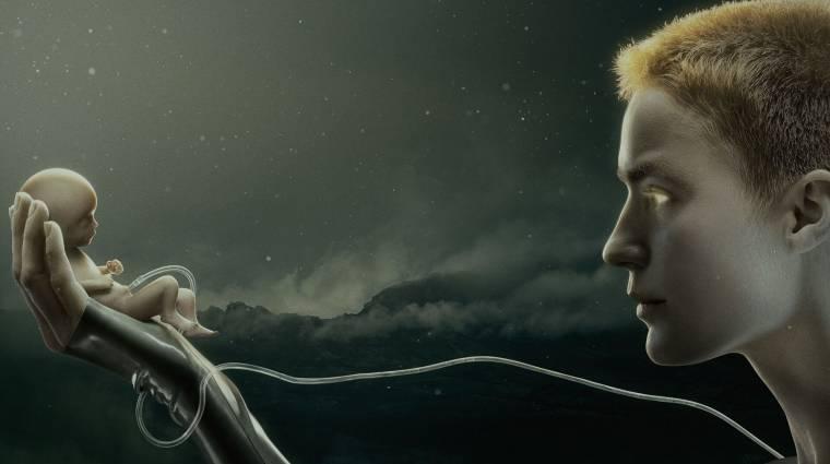 Brutális első előzetest kapott Ridley Scott sci-fi sorozata, a Raised by Wolves kép