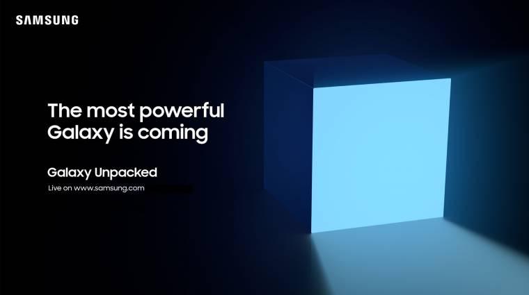 Megvan a következő Samsung Galaxy Unpacked esemény időpontja kép