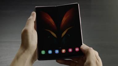Kiszivárgott videón nézhetjük meg a Samsung Galaxy Z Fold 2-t kép