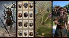 Így néz majd ki játék közben a The Witcher: Monster Slayer kép