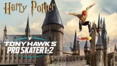 Egy Tony Hawk's Pro Skater játékos Roxfortból csinált gördeszkapályát kép