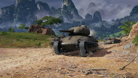 Hatalmas frissítést kapott a World of Tanks kép