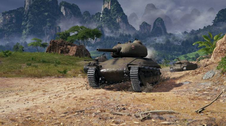 Hatalmas frissítést kapott a World of Tanks bevezetőkép